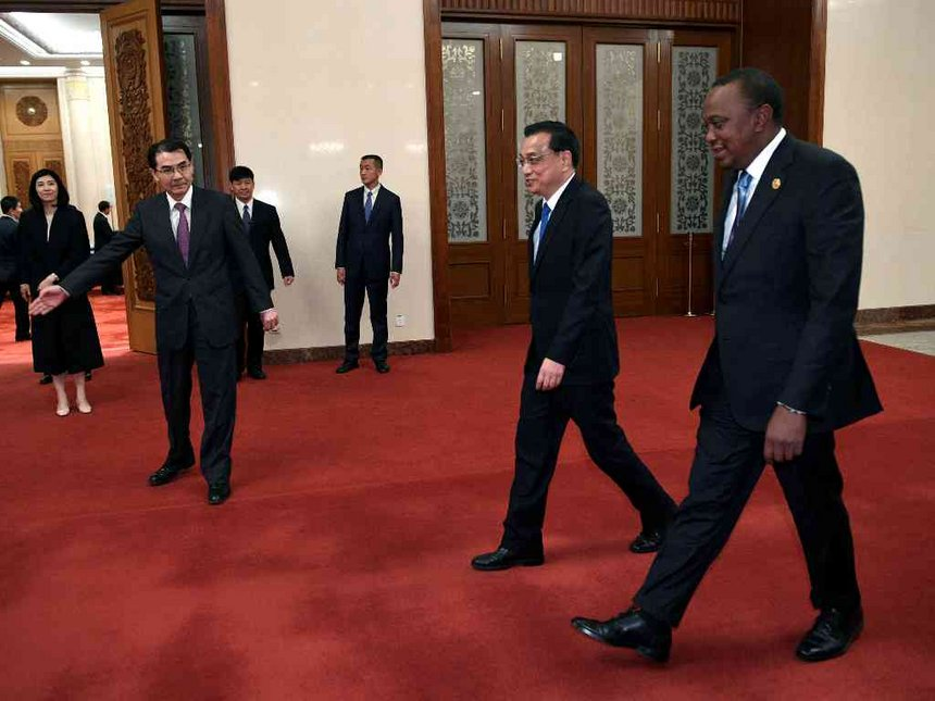 Enter the Dragon: Kenya-China relations