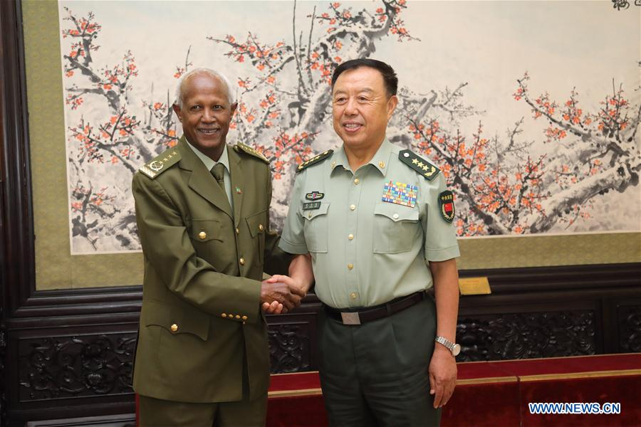 China, Ethiopia vow to promote military ties