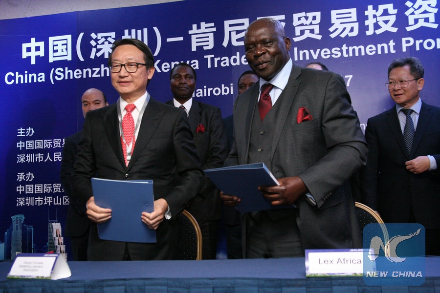 Chinese delegation in Kenya to look for investment opportunities