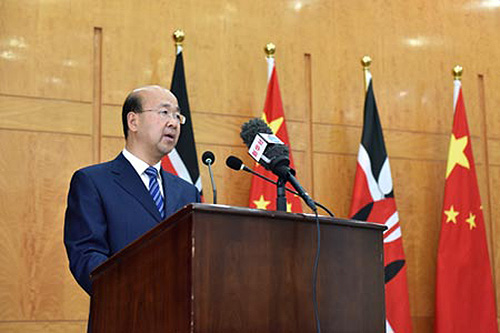 Envoy sees unique prospects of growth in Kenya-China ties