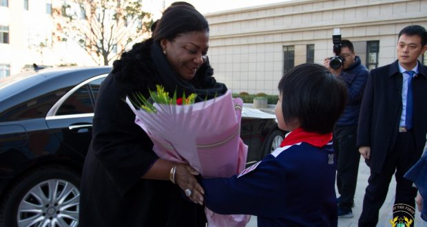 First Lady secures Chinese exchange programme for Ghanaian pupils