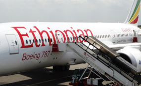 Ethiopian Airlines Names Latest Airplane B787-9 in Honor of Chinese Capital