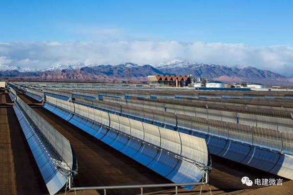 Chinese enterprise builds world's largest single-unit solar power plant in Morocco