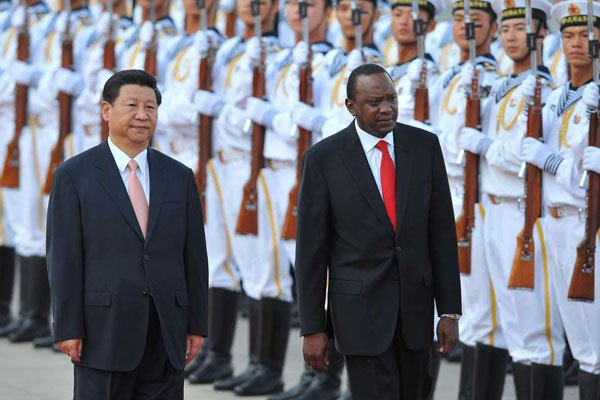 Initiating 'a golden era' for China-Kenya cooperation