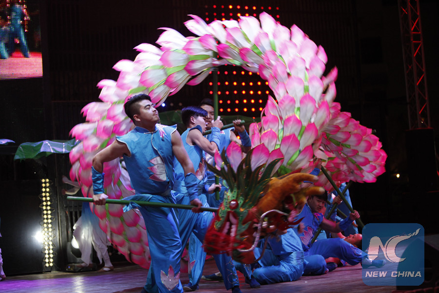 Spring Festival approaches Egypt with impressive Chinese elements