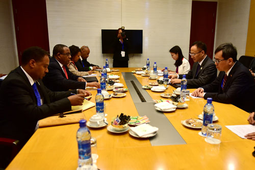 Assistant Foreign Minister Chen Xiadong visits Ethiopia