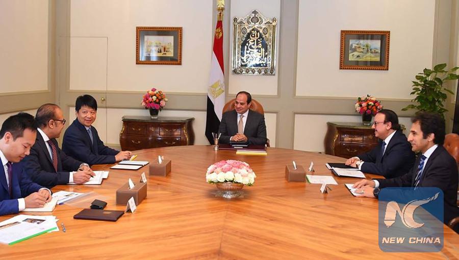 Egypt's president lauds