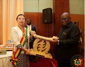 'Promote Ghana in China' - Akufo-Addo tells outgoing Chinese Ambassador