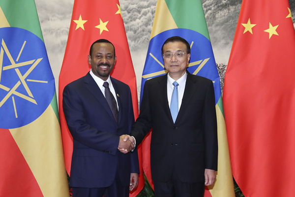China-Ethiopia ties to generate more vitality