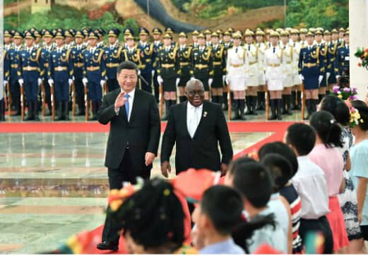 'China-Ghana relations must take the lead in Africa' – Xi Jinping to Akufo-Addo