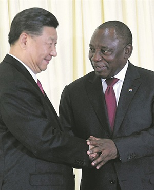 Solidifying Africa's ties with China