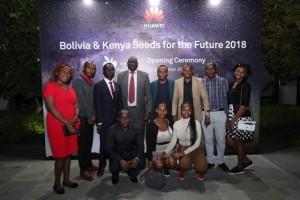 Huawei resumes Kenyan scholars training in China