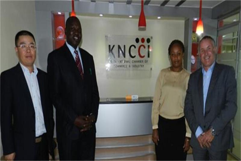 "MIE Events and Kenya Chamber agreed ""China Trade Week"" promotional partnership"