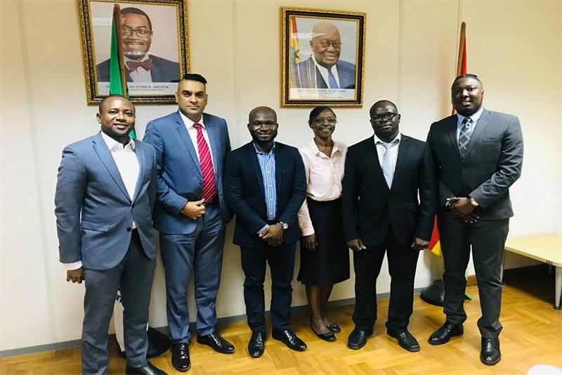 MIE Groups meets African Development Bank, Ghana branch