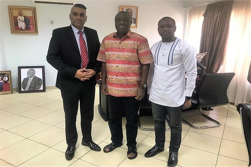 Minister briefed on CTW Ghana 2019