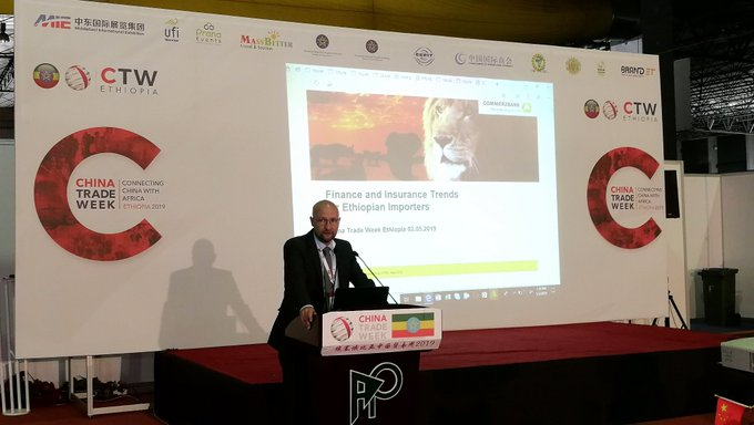 At ChinaTradeWeek Ethiopia, @Commerzbank Sr. Representative Mr. Konrad Engber delivered an insightfu