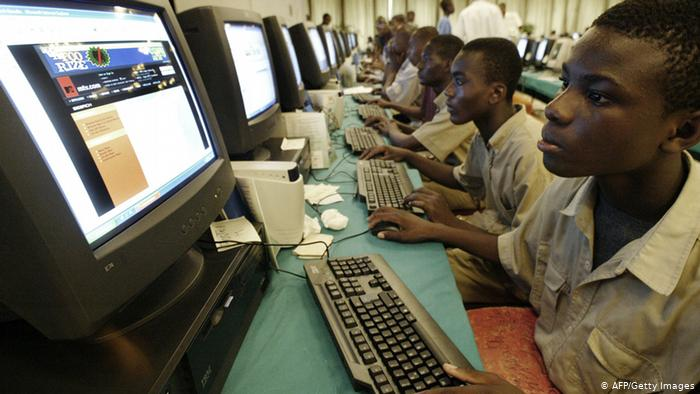 Who brings the internet to Africa's remote regions?