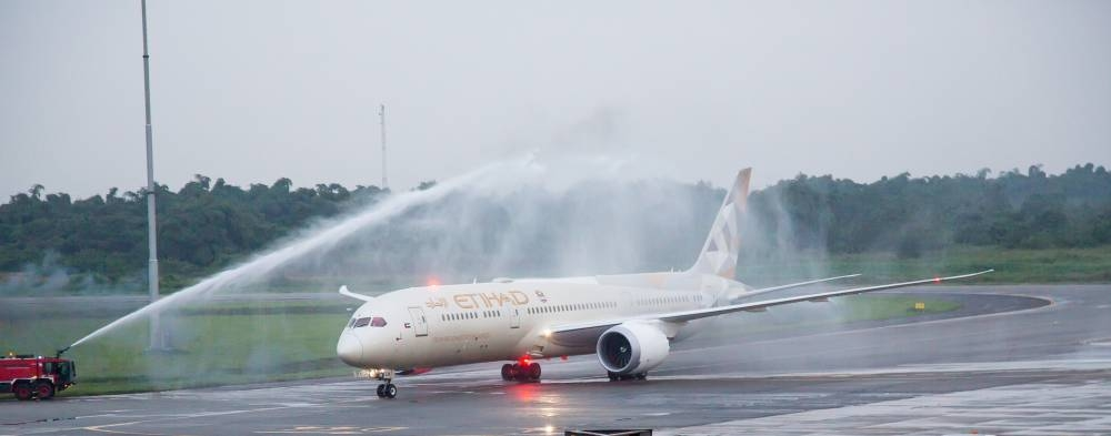 Etihad Airways introduces its Boeing 787-9 Dreamliner to Lagos