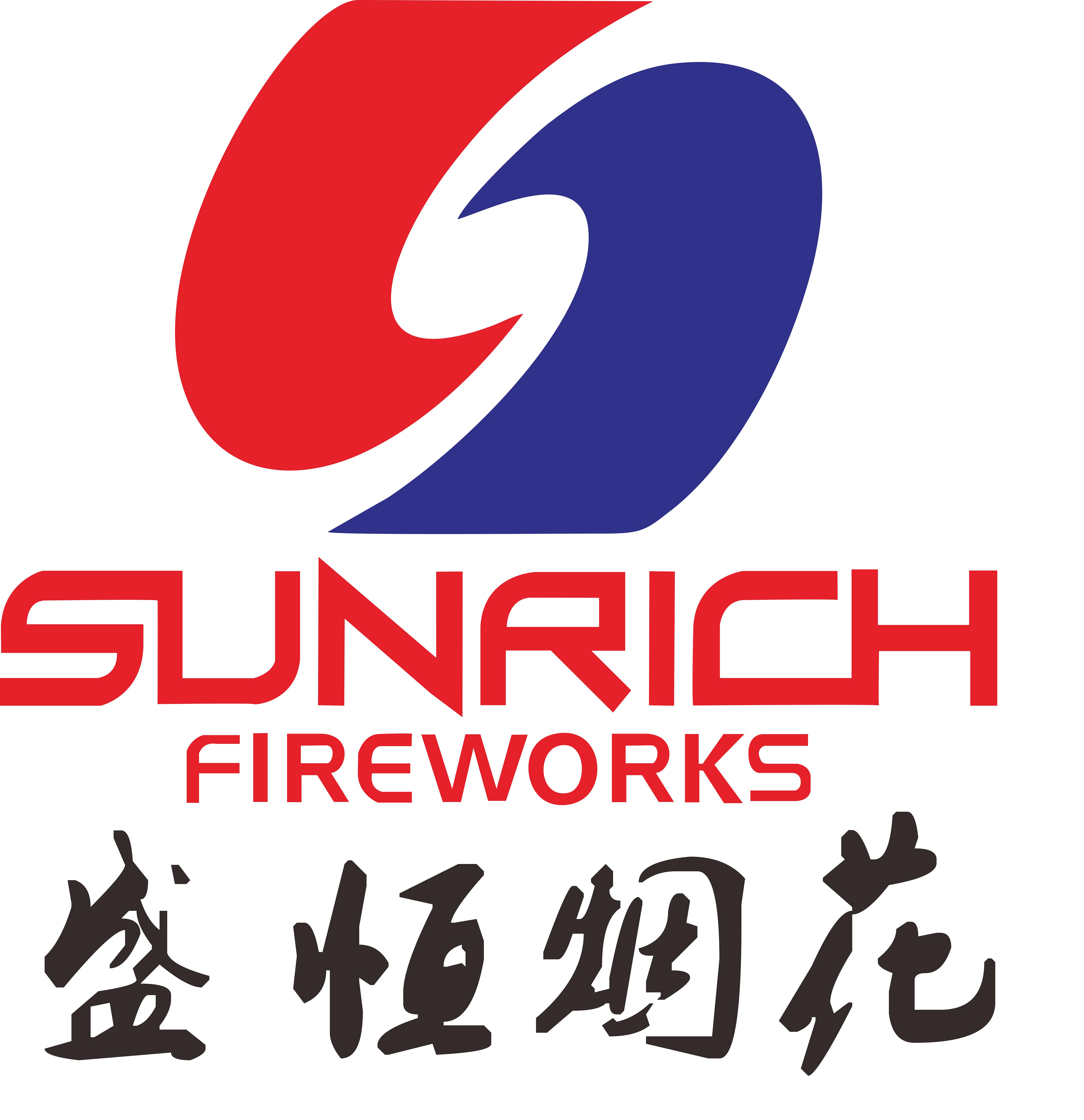 SUNRICH FIREWORKS CO.,LTD.CHINA