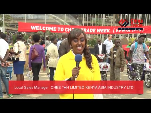 CHEE TAH LIMITED KENYA ASIA INDUSTRY LTD